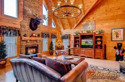 4 Bedroom Gatlinburg Cabin Rentals Heartland Cabin Rentals